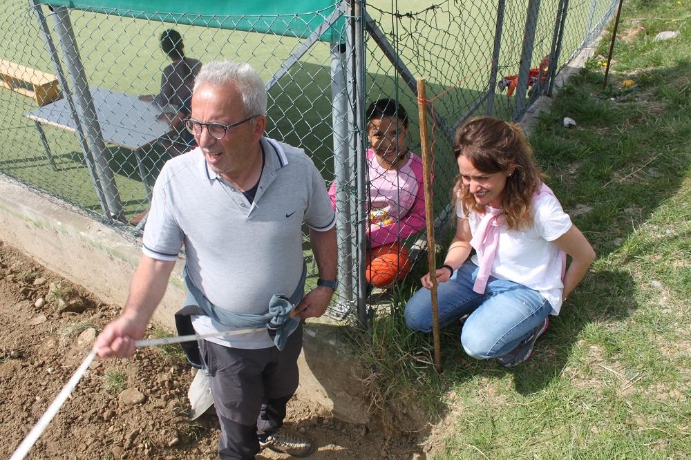 Realizzazione dell'orto didattico a Casa Pollicino