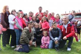 I bambini di Casa Pollicino allo stadio
