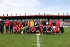 Foto squadre prima della partita