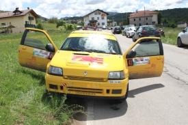 Pollicino al Rally Bellunese con Gianluca Rossa